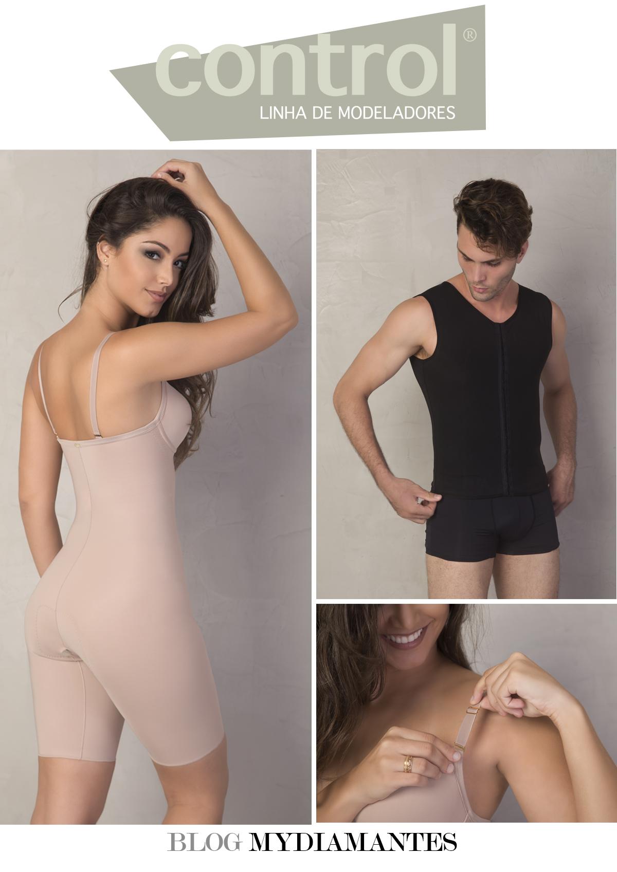 2a4a00a40 A linha Control traz modeladores confortáveis que obedecem as reais  anatomias do corpo. Ideal para vestir durante todo o dia