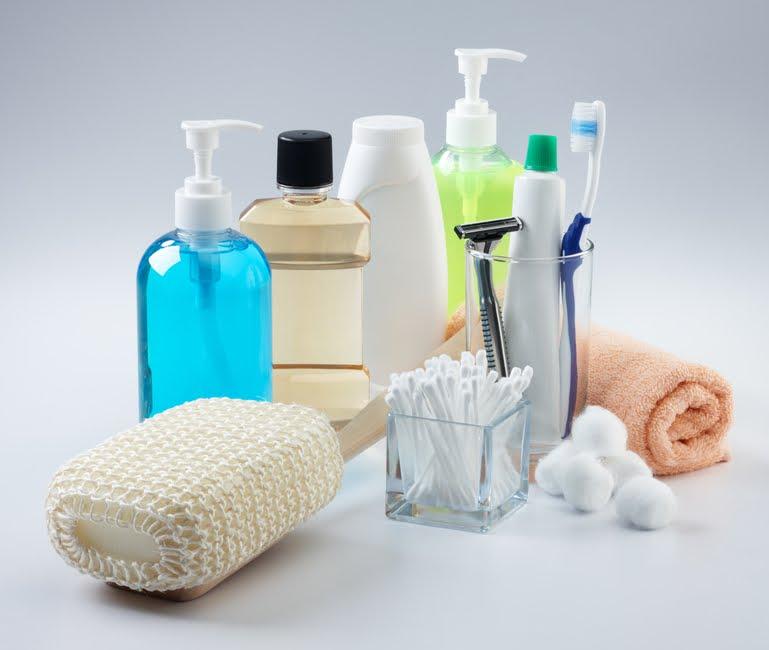 Produtos de higiene pessoal (Foto: Internet)