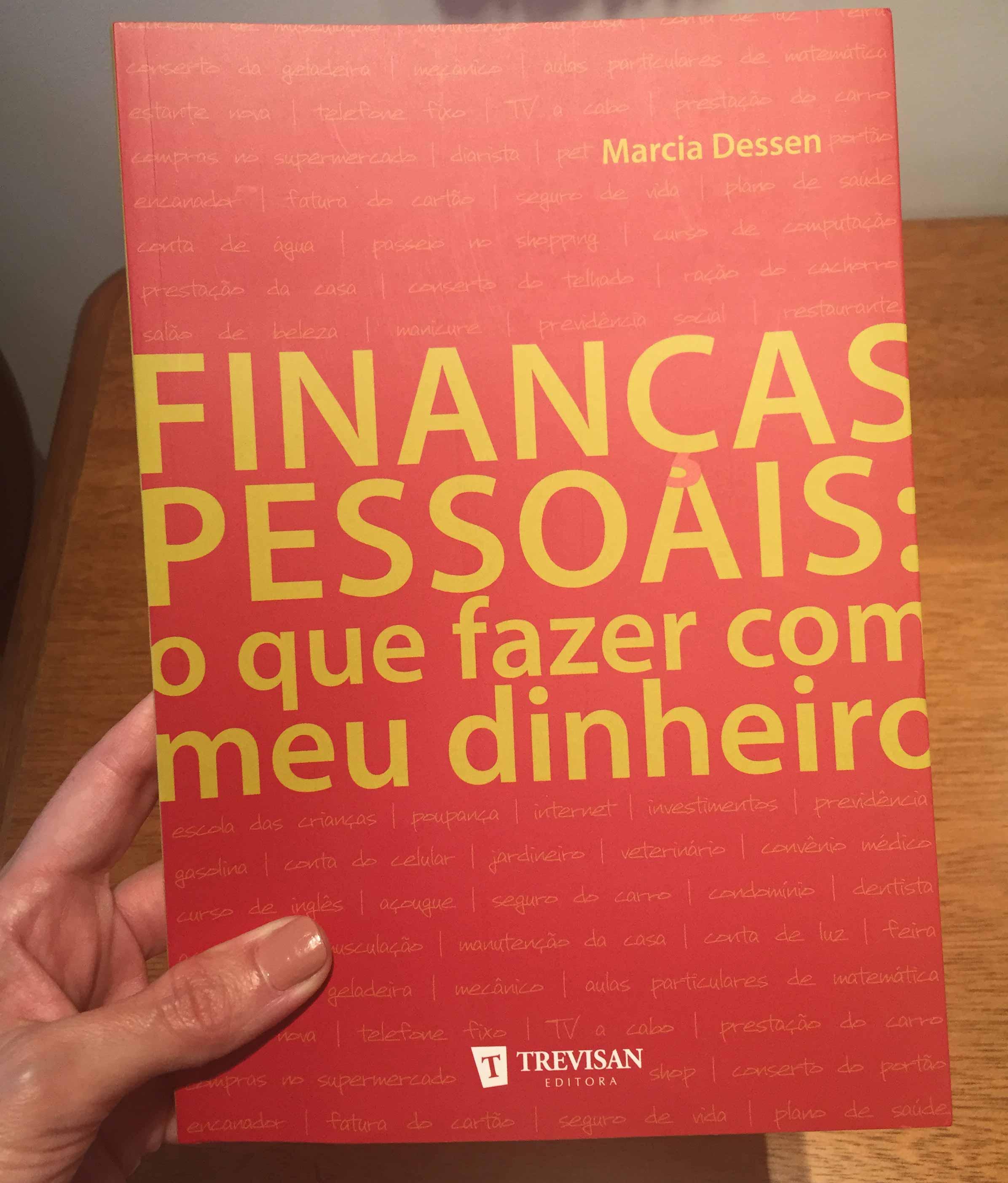 """Capa do livro """"Finanças Pessoais – O que fazer com meu dinheiro""""."""