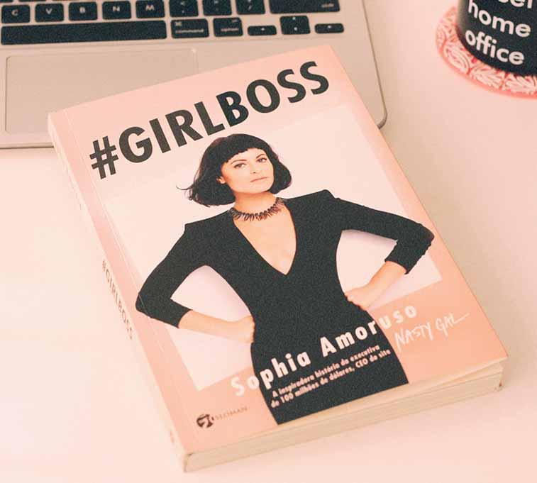 """Capa do livro """"Girlboss""""."""