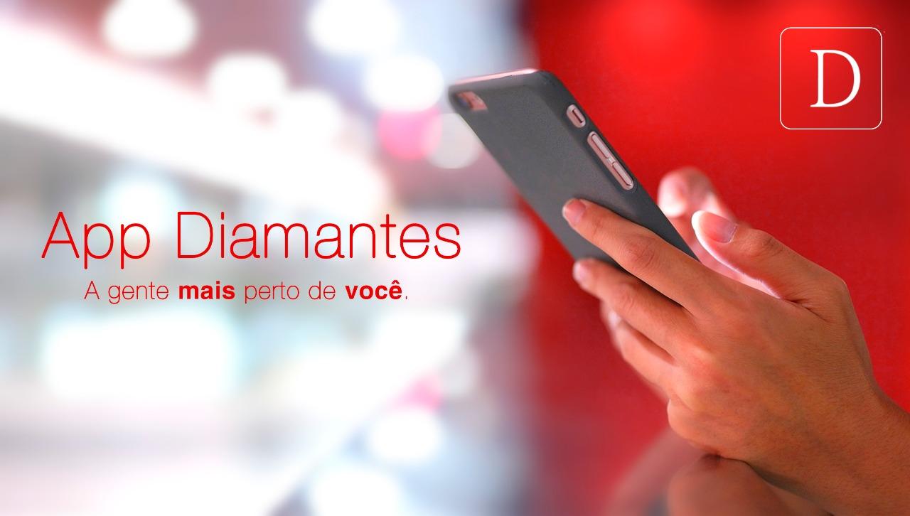 """Agora a Diamantes é digital com o aplicativo """"Diamantes Lingerie"""". (Foto: Diamantes Lingerie)"""