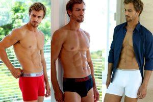 Underwear masculina para todos os estilos e gostos. (Foto: Diamantes Lingerie)